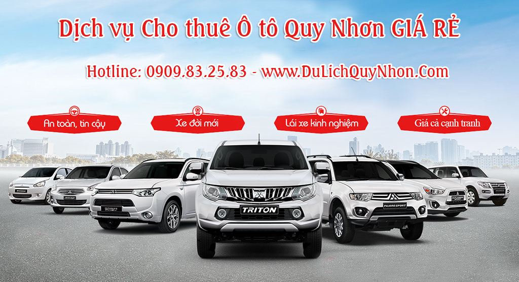 Thuê xe Quy Nhơn – Bình Định