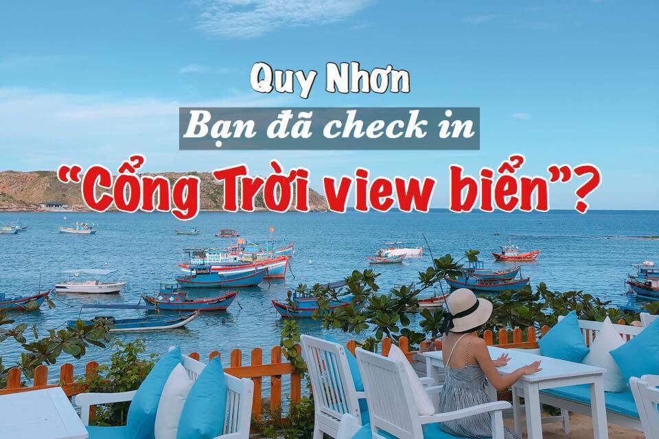 """CocoCamp Quy Nhơn – """"Cổng trời"""" view biển tại Hòn Khô"""